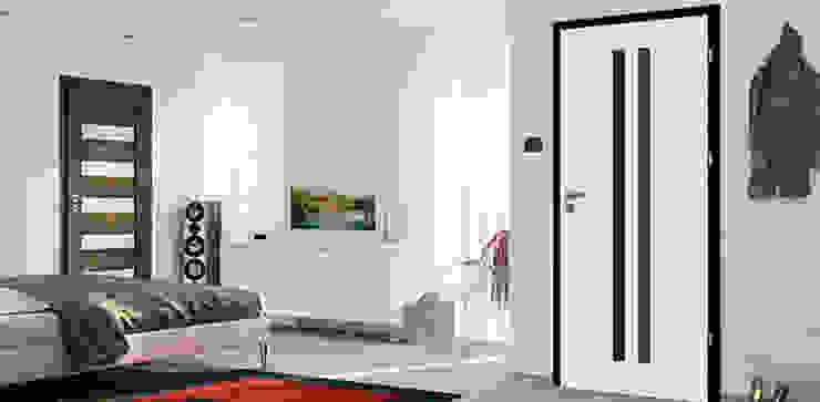 Porte intérieure design MEDIOLAN par Coliséo Éclectique