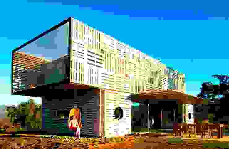 modern  by James & Mau Arquitectura, Modern