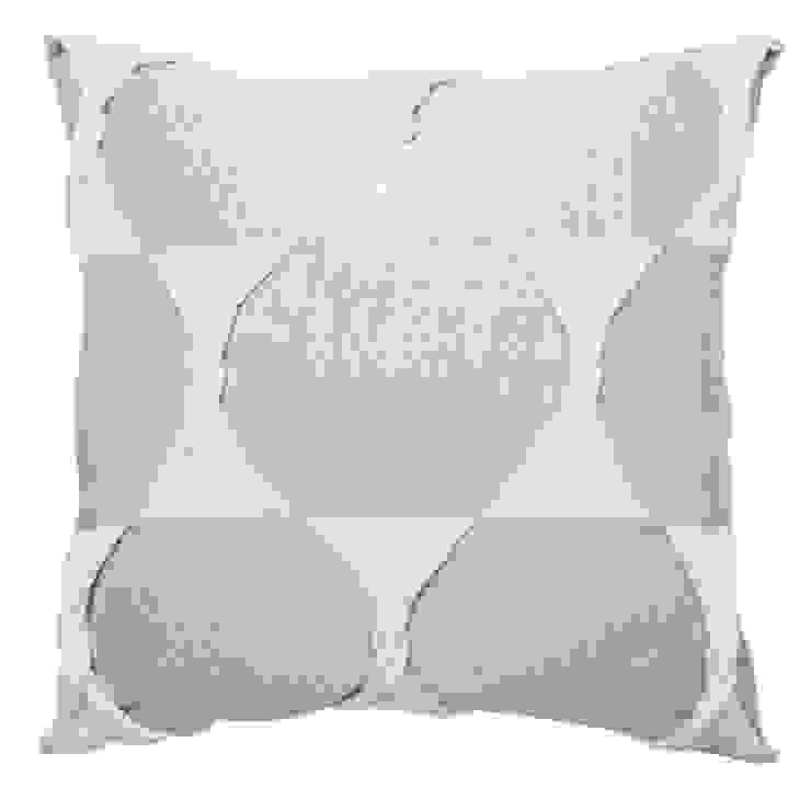 Twist Cushion - Silver: modern  by From Brighton With Love, Modern