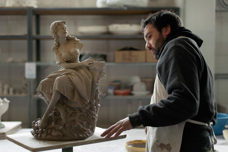 PEOPLE AND THE FACTORY di REBIRTH CERAMICS Moderno