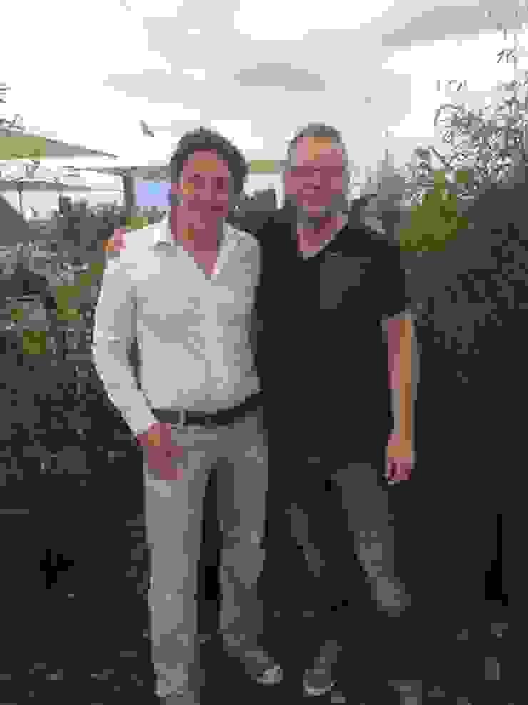 Met Lodewijk Hoekstra, bekend van Rtl 4 Eigen Huis en Tuin Mediterrane kantoor- & winkelruimten van GroenRijk Hoveniers Mediterraan
