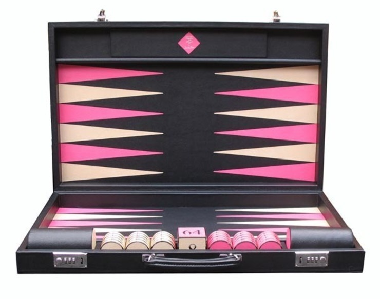 Bespoke Contemporary class Backgammon: modern  by Geoffrey Parker Games Ltd, Modern