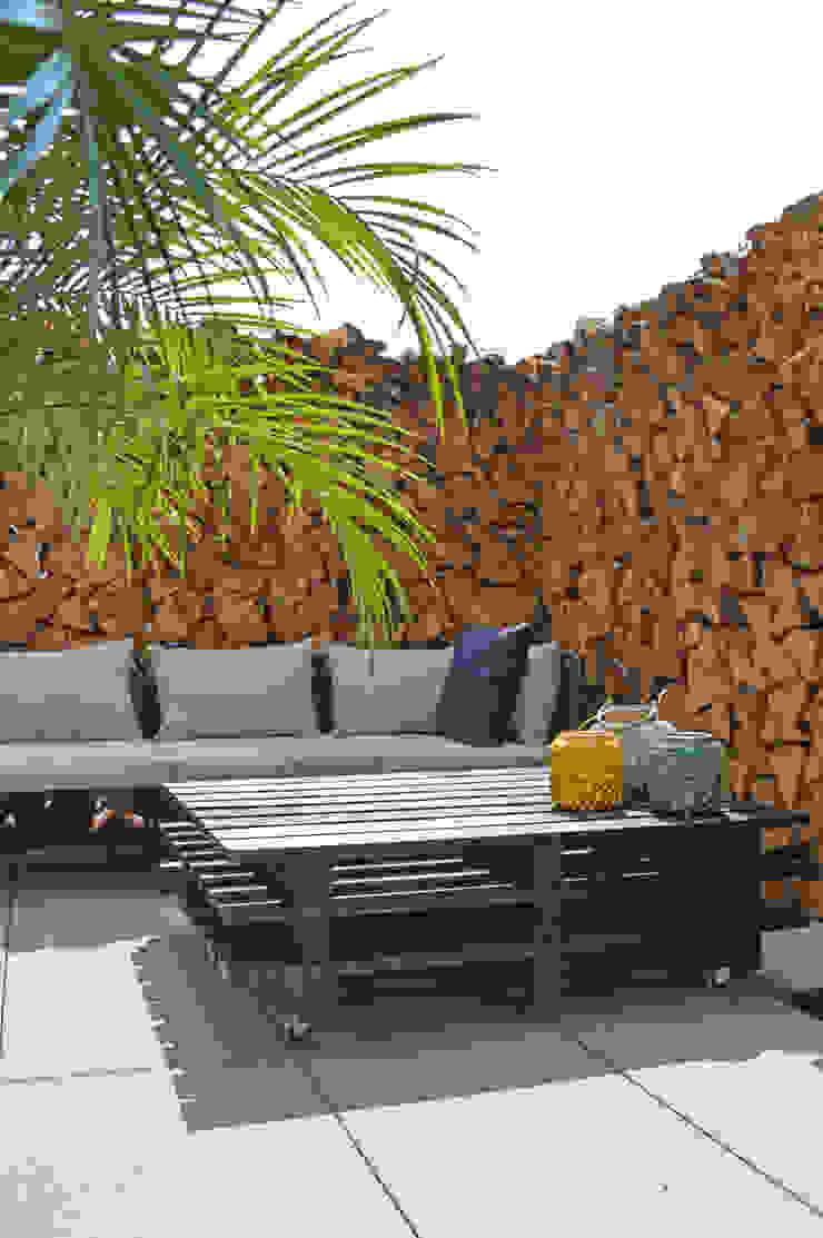Mediterranean style balcony, veranda & terrace by Kristina Steinmetz Design Mediterranean