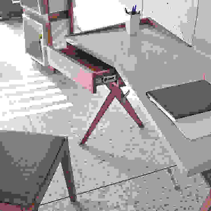 DESPACHOS Y OFICINAS Estudios y despachos de estilo minimalista de Muebles Flores Torreblanca Minimalista