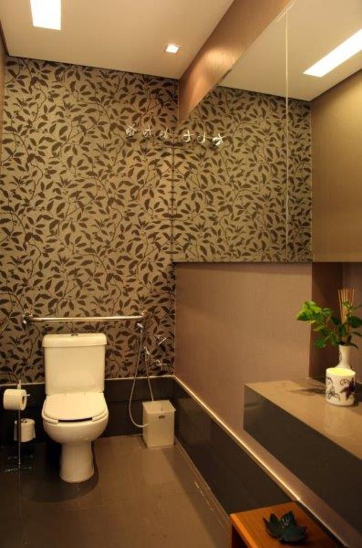 Lavabo Banheiros modernos por Ornella Lenci Arquitetura Moderno