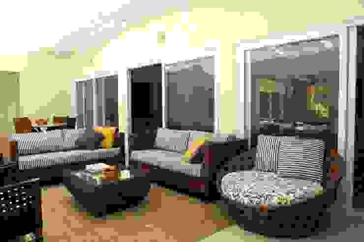 Gazebo Varandas, alpendres e terraços modernos por Ornella Lenci Arquitetura Moderno