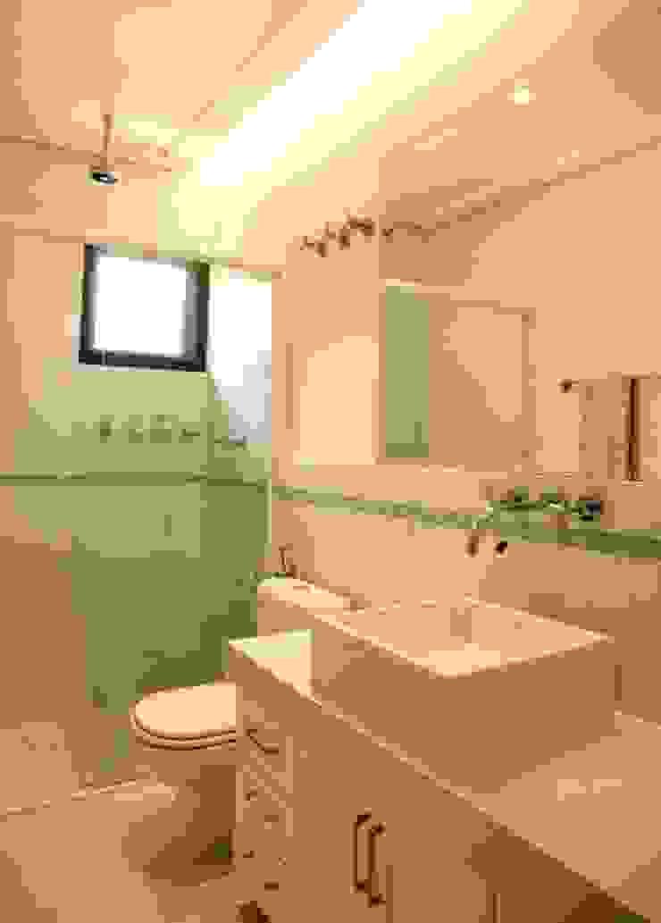 Banheiro Hóspedes Banheiros modernos por Ornella Lenci Arquitetura Moderno