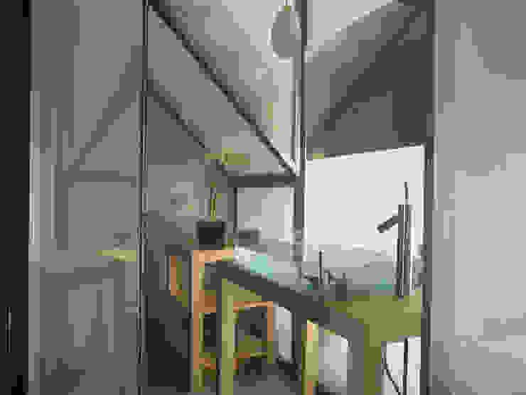 Abitazione Via Kramer Milano Design Lab Bagno minimalista