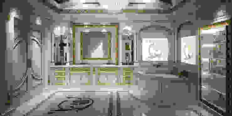 Render Bagno Bagno in stile classico di Studio Montorzi Classico