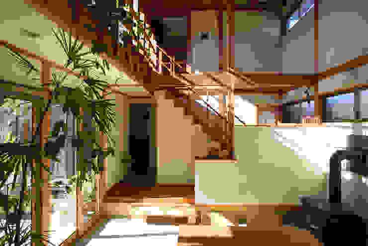 土間 オリジナルデザインの 多目的室 の 八島建築設計室 オリジナル