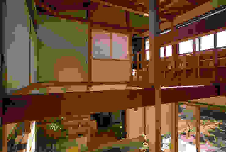 土間(吹抜け) オリジナルデザインの 多目的室 の 八島建築設計室 オリジナル