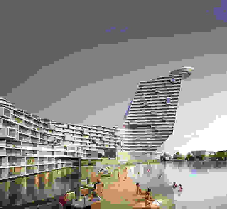 Dobido Miceminium Resort 모던 스타일 호텔 by 나우동인건축사사무소 모던