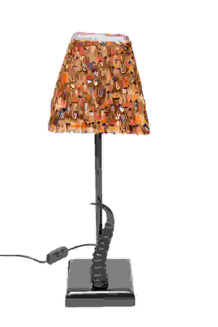 Pheasant/Springbok Horn Table Lamp: modern  by From Africa, Modern