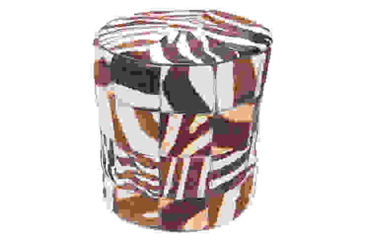 Zebra Pouffe: modern  by From Africa, Modern