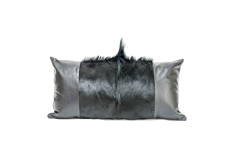 Springbok/Leather Cushion: modern  by From Africa, Modern