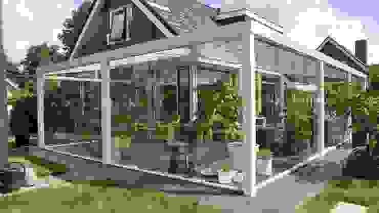 Mooieverandas.nl Jardines de invierno de estilo moderno