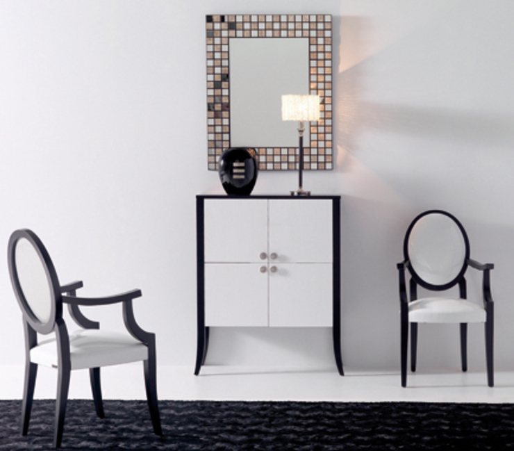 RECIBIDORES Y ESPEJOS de Muebles Flores Torreblanca Moderno