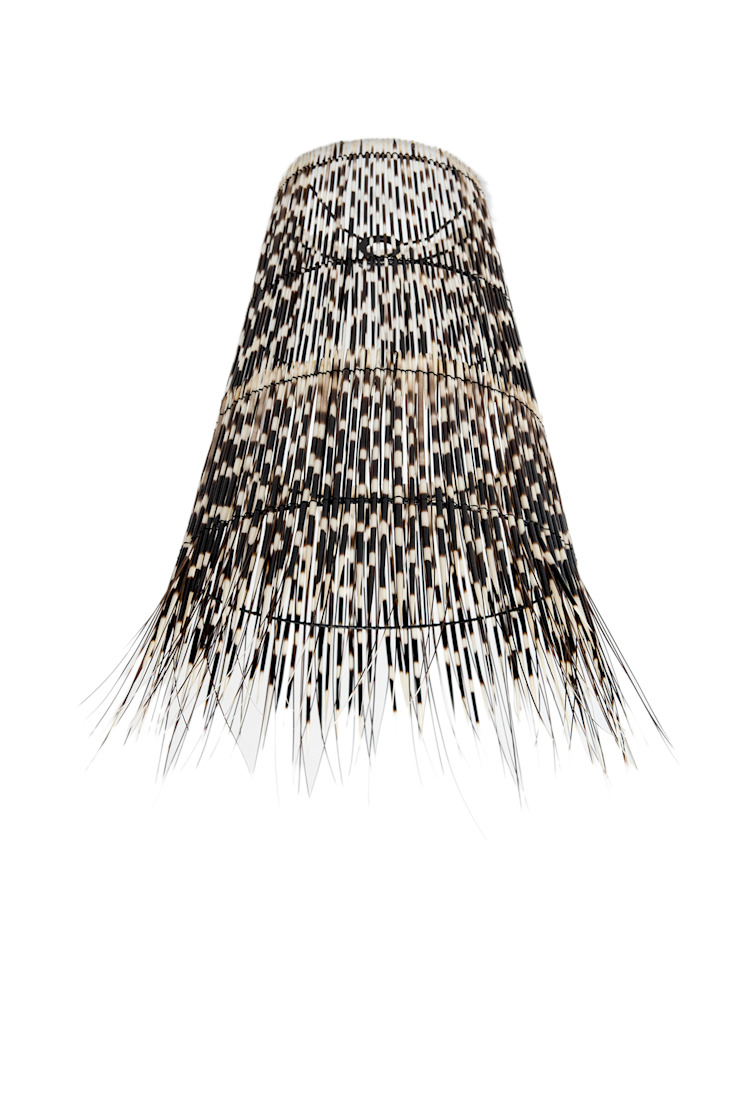 Porcupine Quill Ceiling Shade: modern  by From Africa, Modern