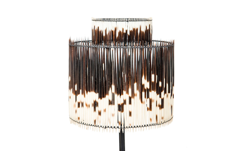 Porcupine Quill Lamp Shade: modern  by From Africa, Modern