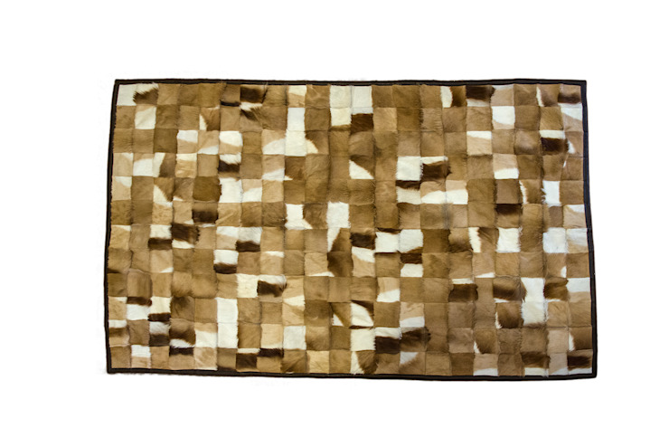 Springbok Patch Rug: modern  by From Africa, Modern