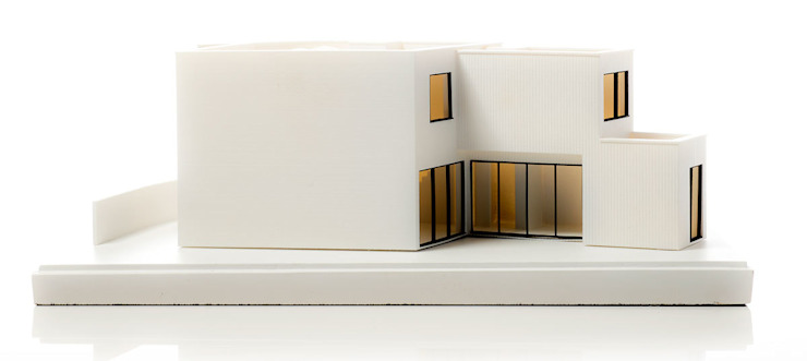 Side view: modern  by Chisel & Mouse, Modern