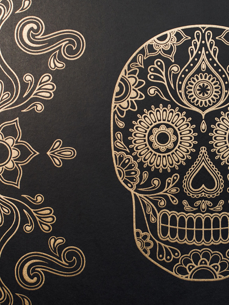 Skull Wallpaper by Anatomy Boutique