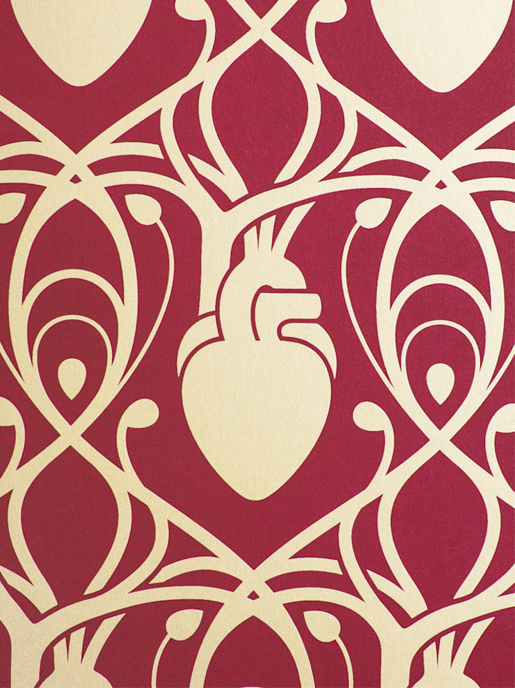 Anatomy Boutique Cardiac Wallpaper by Anatomy Boutique