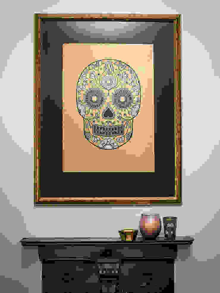 Gold Sugar Skull by Anatomy Boutique