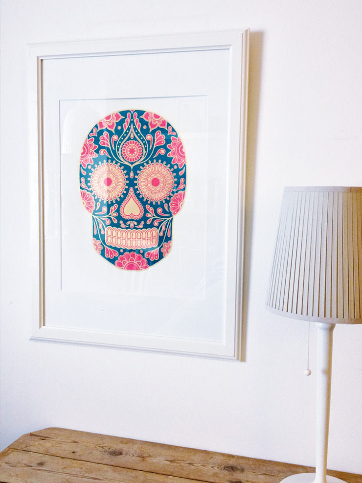 Summer Sugar Skull by Anatomy Boutique