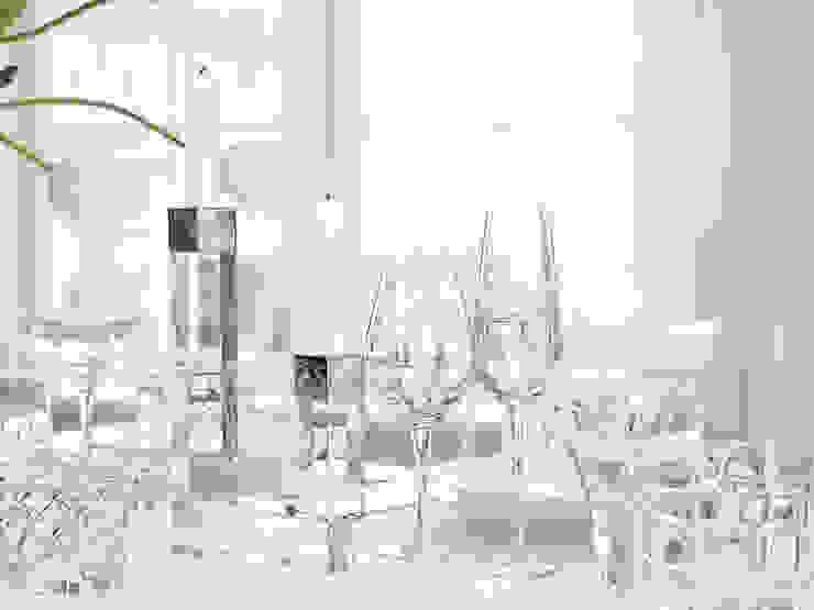 Sofistike EsszimmerGeschirr und Gläser
