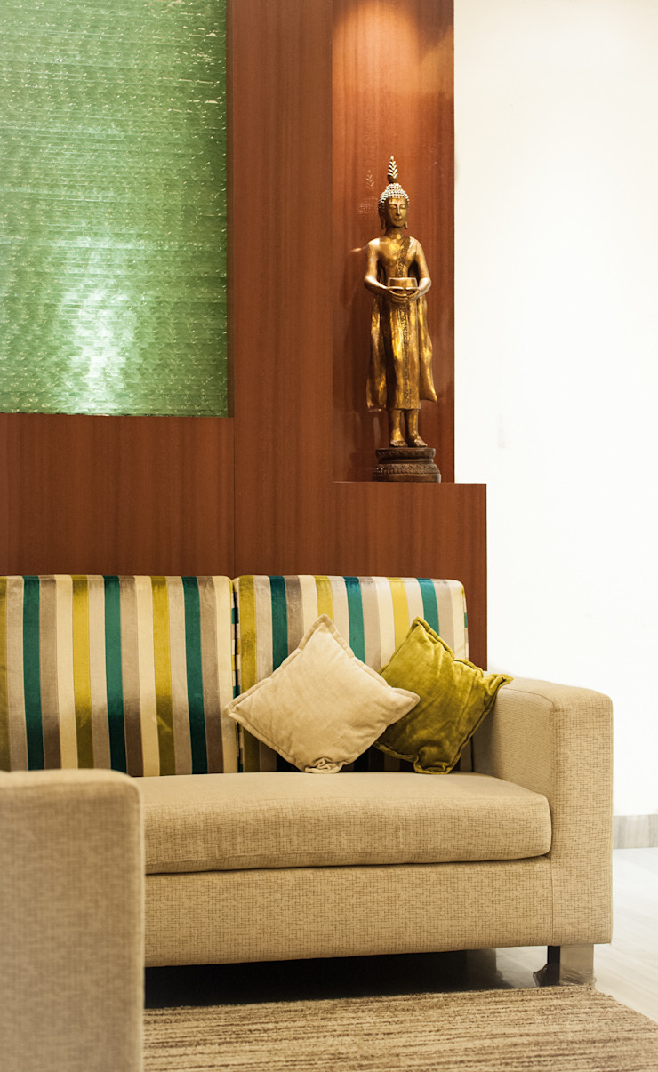 Waiting Area Modern living room by Vishwanath And Associates Modern