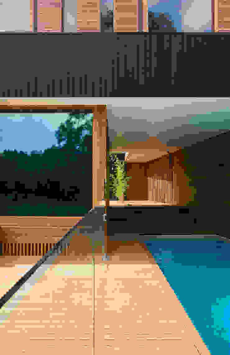Project #2 Modern pool by CHROFI Modern
