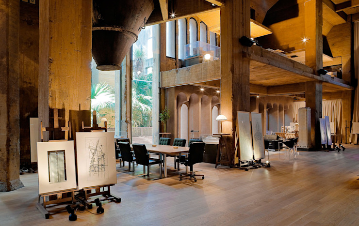 Habitaciones de Ricardo Bofill Taller de Arquitectura