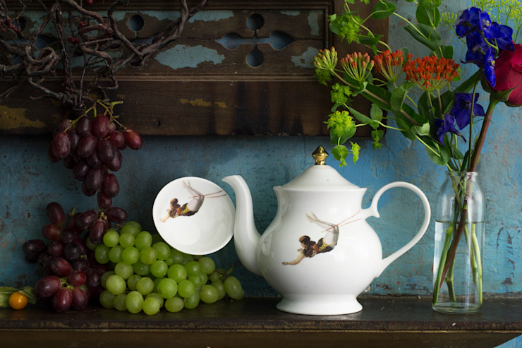 Trapeze Teapot by Melody Rose