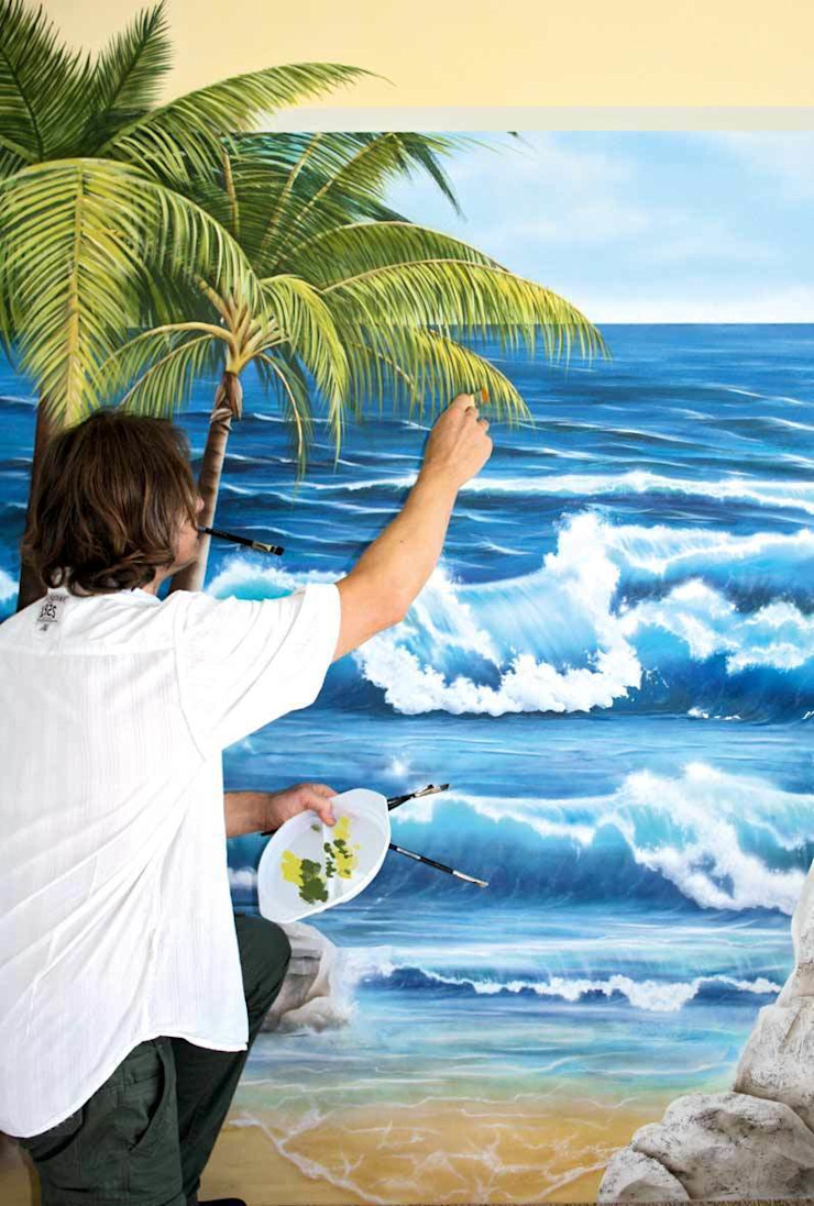 Spa in stile mediterraneo di Studio Witti - Atelier für Gestaltung Mediterraneo