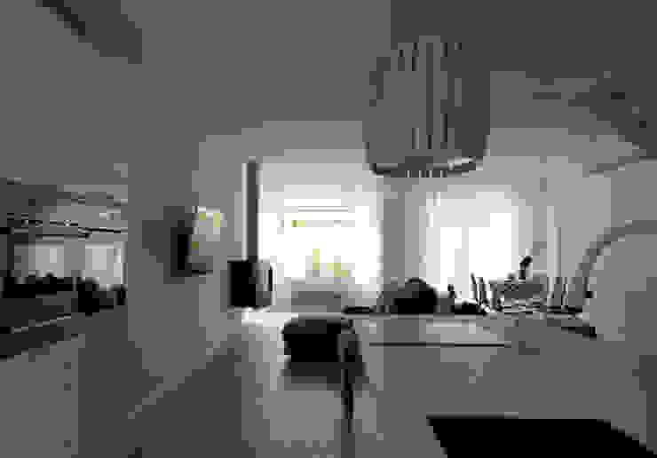 Vivienda ARA_Aravaca 1# Casas de estilo escandinavo de Calizza Interiorismo Escandinavo