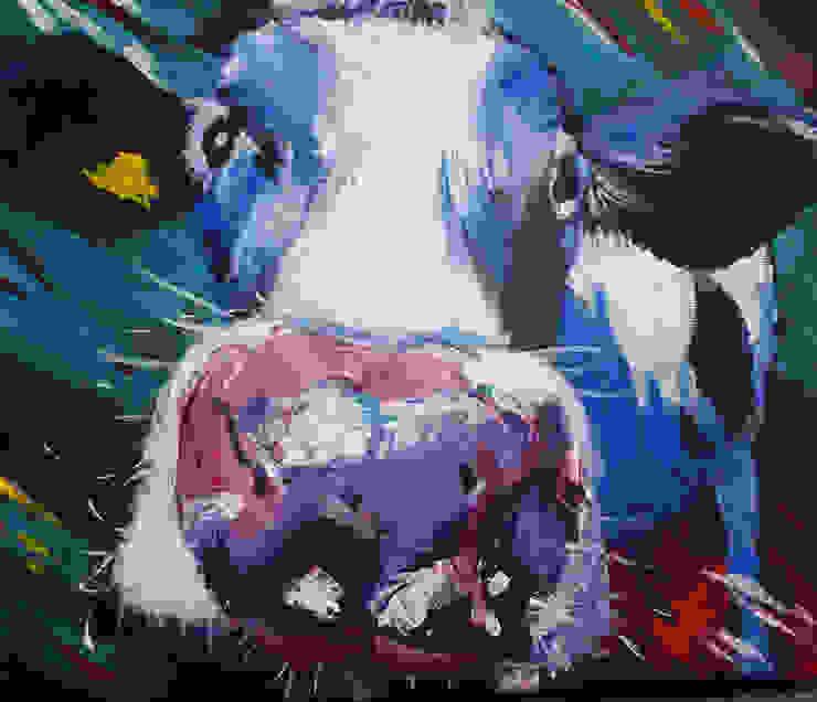 Cheeky Cow: modern  by Marilyn Allis, Modern