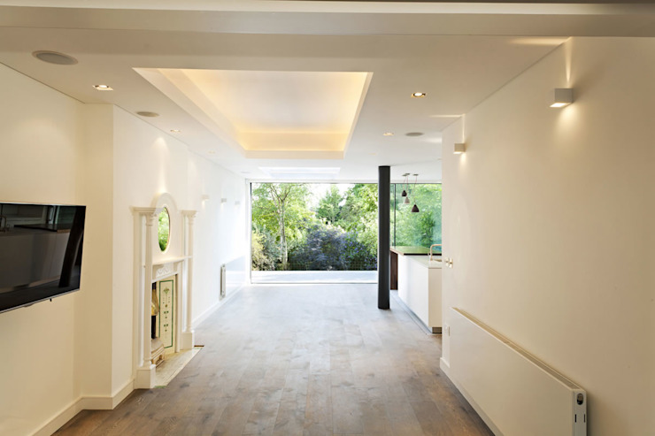 Redston Road, N8 Modern living room by XUL Architecture Modern