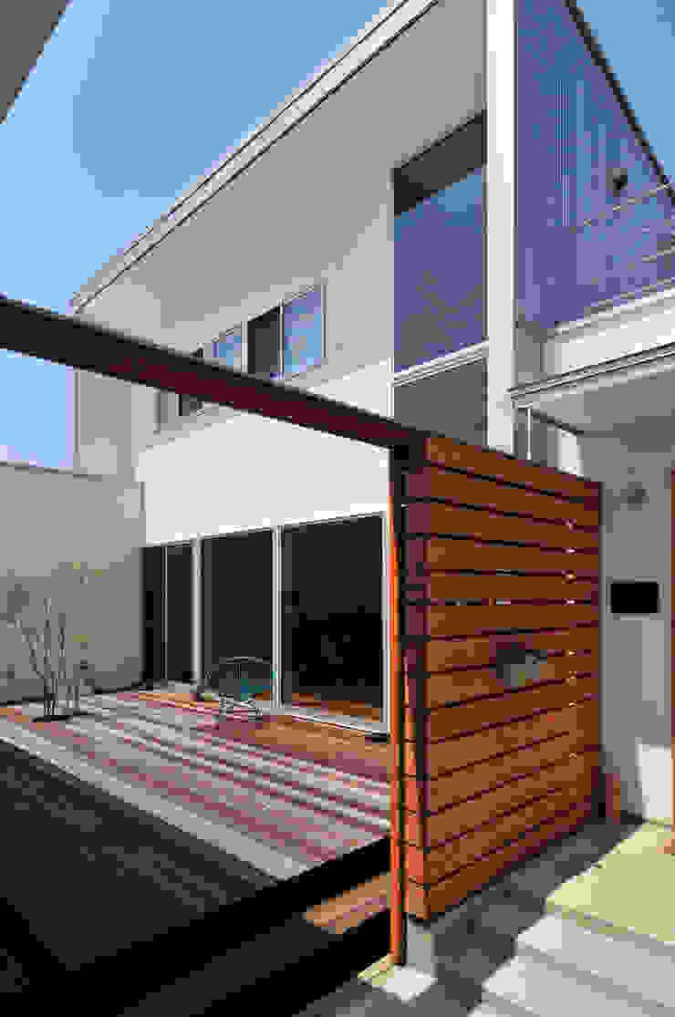 HOUSE-SMT モダンな 家 の 島田博一建築設計室 モダン