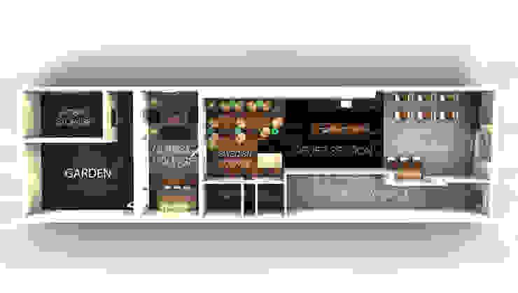 Coffeehouse Plan Scandinavische bars & clubs van Alexander Claessen Scandinavisch