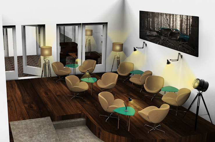 Coffeehouse Scandinavische bars & clubs van Alexander Claessen Scandinavisch