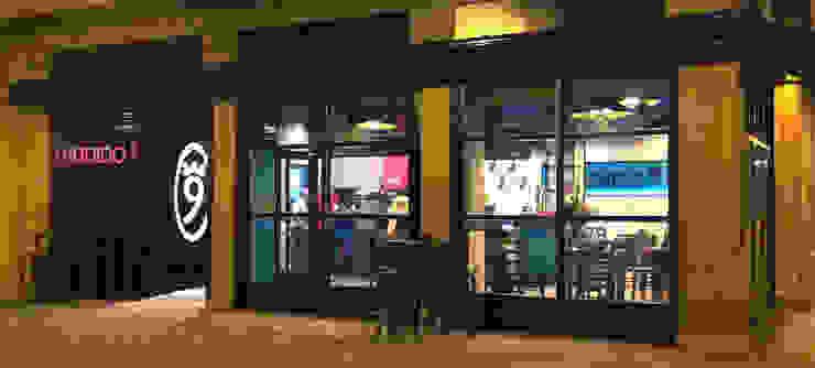 diseño y reforma local comercial en burgos. Bar Tendido9 Espacios comerciales de Cimbra47