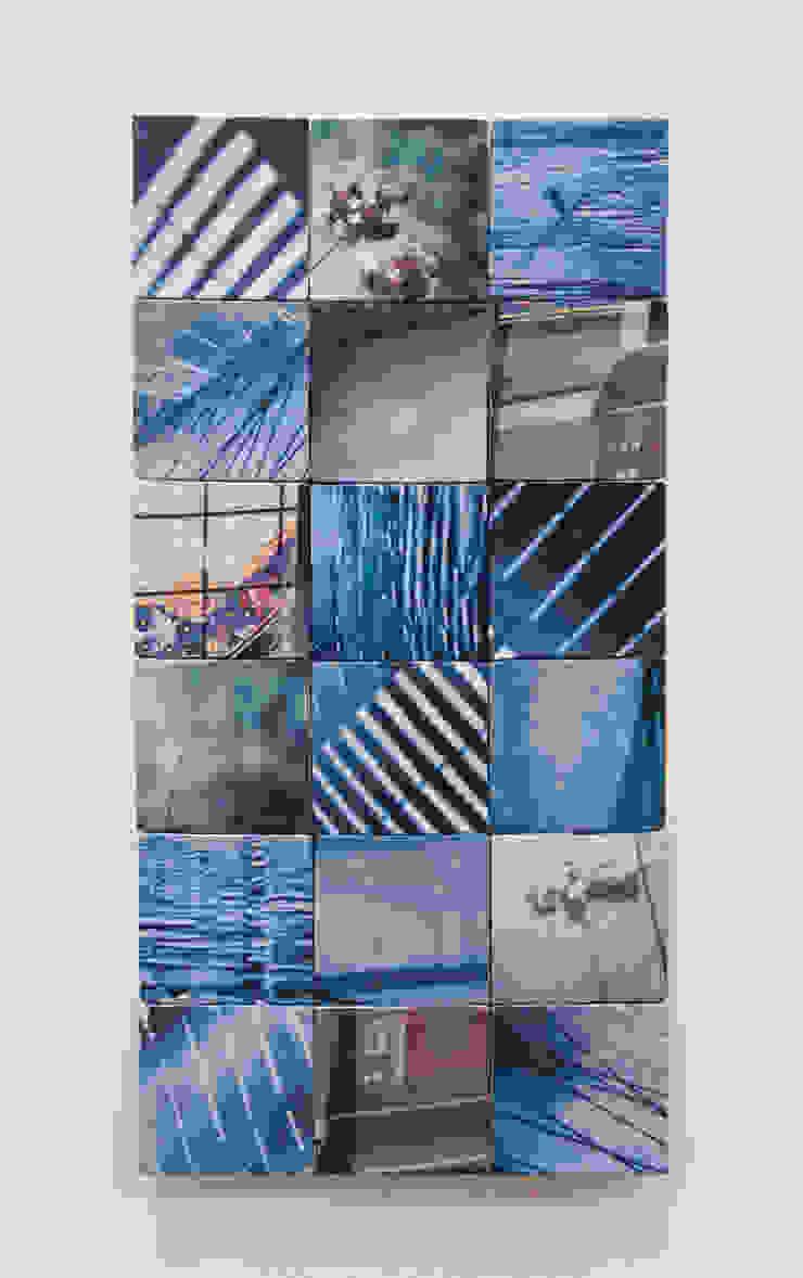 Things I Like in Blue: modern  by Sandra Owens, Modern