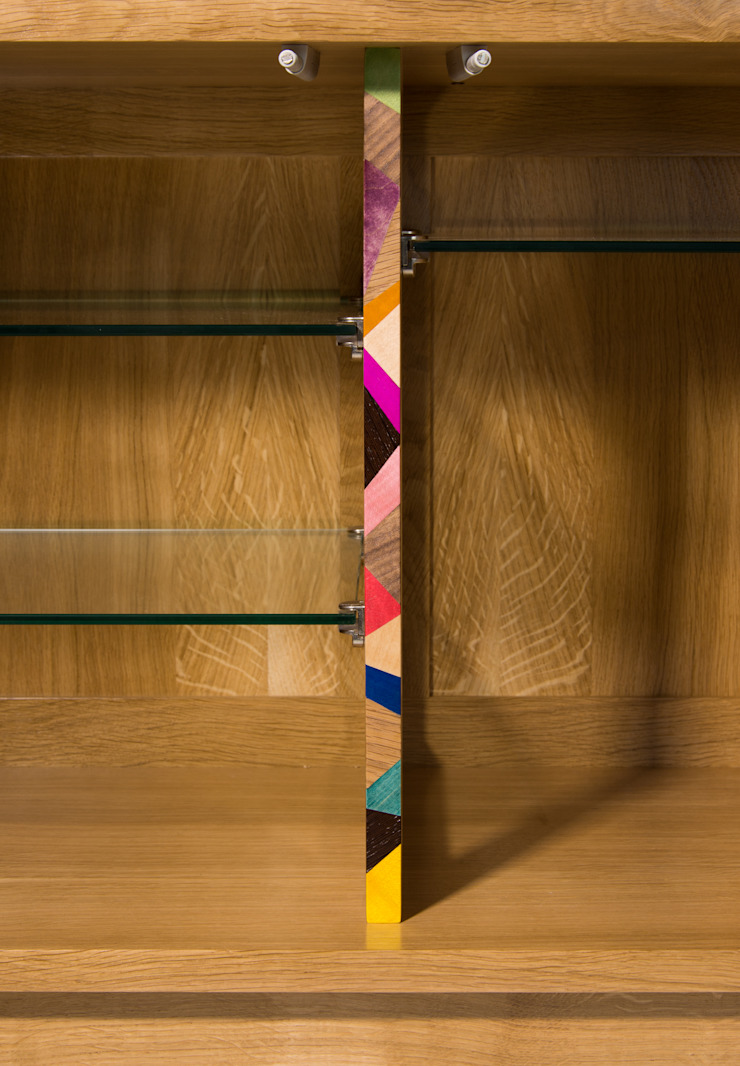 Cubist Credenza 13: modern  by Turner Furniture, Modern