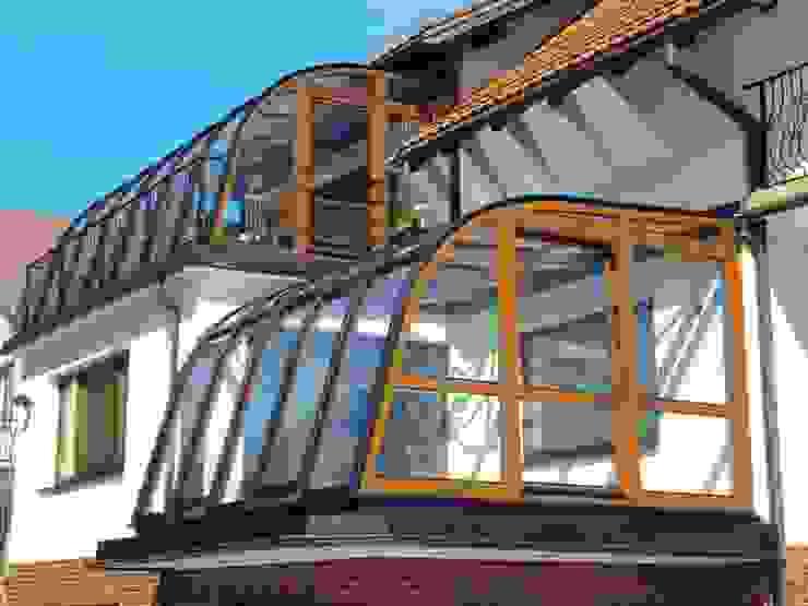 Wintergarten Moderner Wintergarten von Gracja Modern Holz Holznachbildung