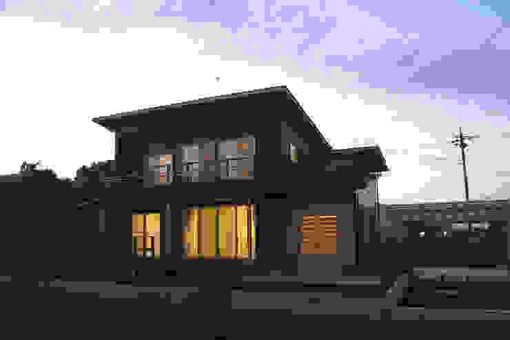 夕景 オリジナルな 家 の 八島建築設計室 オリジナル