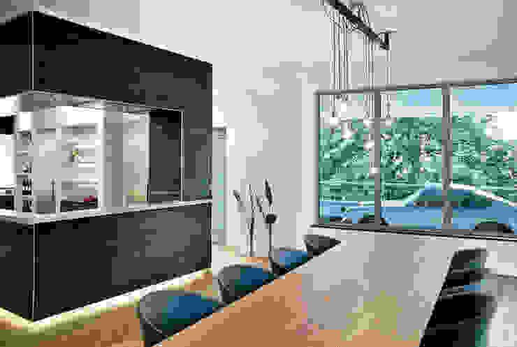 Cityloft Berlin Modern Dining Room by DITTEL ARCHITEKTEN GMBH Modern