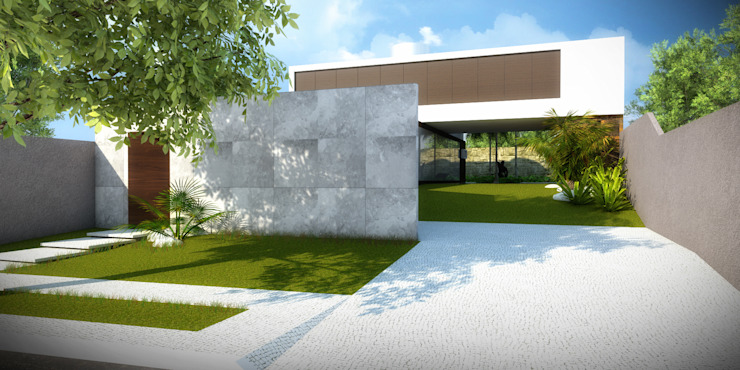 Residência E.C II Casas por Arqmais