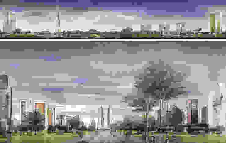 Moscow Agglomeration de Ricardo Bofill Taller de Arquitectura