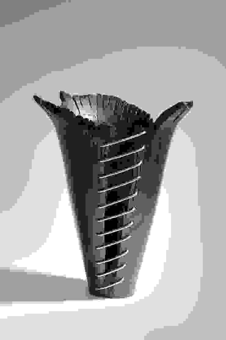 Bog Oak Vase by Kieran Higgins Woodturnings
